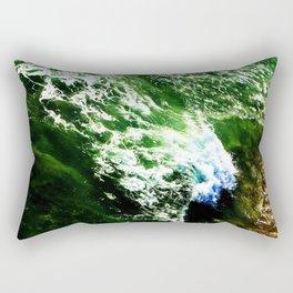 Ocean Green Rectangular Pillow