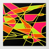 deco Canvas Prints featuring DECO by ..........