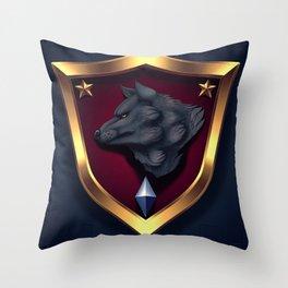 SDF Sirius Platoon Badge Throw Pillow
