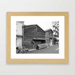 Osaka woodwork Framed Art Print