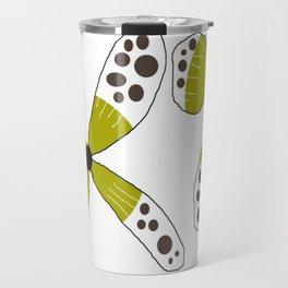 FLOWERY SUSANNE / ORIGINAL DANISH DESIGN bykazandholly Travel Mug