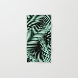 Palm Leaves - Mint Cali Vibes #1 #tropical #decor #art #society6 Hand & Bath Towel