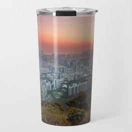 Sunrise over the City Travel Mug