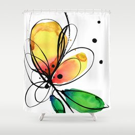 Ecstasy Bloom No.8 by Kathy Morton Stanion Shower Curtain