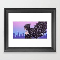 Lonely City Framed Art Print