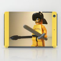 gladiator iPad Cases featuring SPARTACUS THE GLADIATOR CUSTOM LEGO MINIFIG by Chillee Wilson by Chillee Wilson [Customize My Minifig]