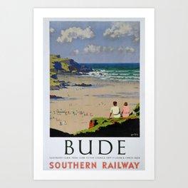 poster Bude Art Print