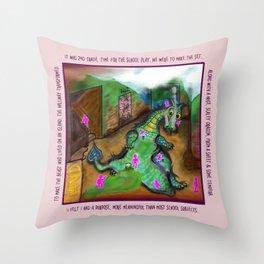 2nd Grade Play Dream Throw Pillow