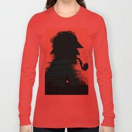 Sherlock Holmes Long Sleeve T-shirt