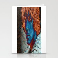 caleb troy Stationery Cards featuring Troy by Robin Curtiss