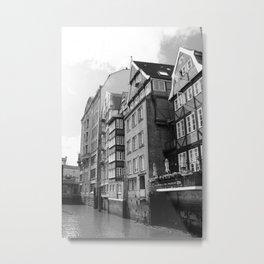 Nikolaifleet Hamburg Metal Print
