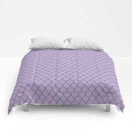 Chain Link Lavender Comforters