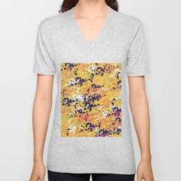 Abstract 36 Unisex V-Neck
