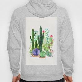 Cactus Garden Hoody