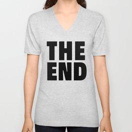 The End Black Unisex V-Neck