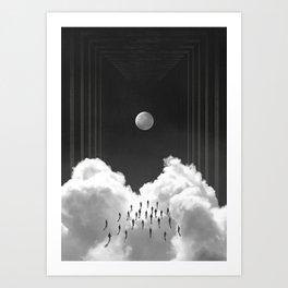 The ones Art Print