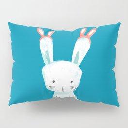 Four Eared Bunny Pillow Sham
