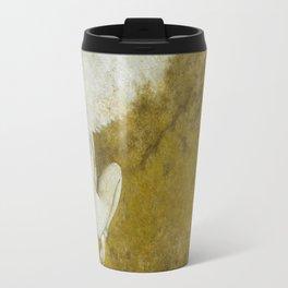 The Gold  Angel Travel Mug