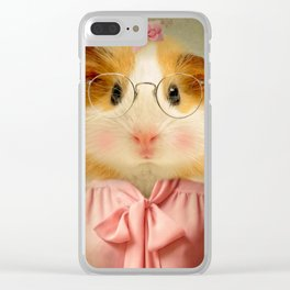 Guinea Pig - Little Shirley Tweedle Clear iPhone Case