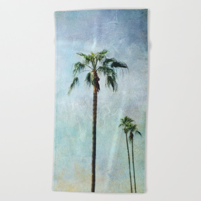 Palm trees Beach Towel
