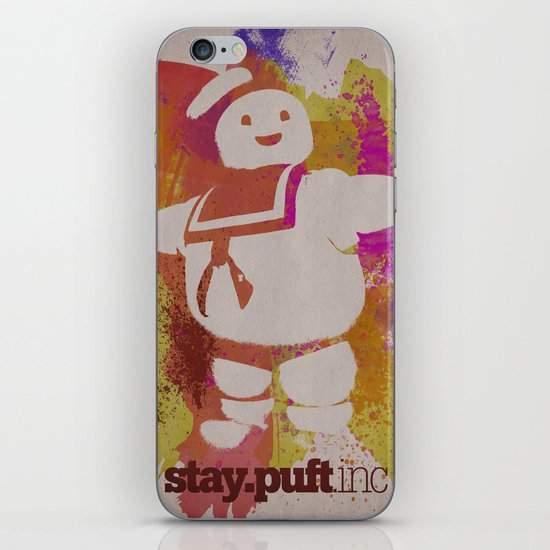 stay.puft.inc iPhone & iPod Skin