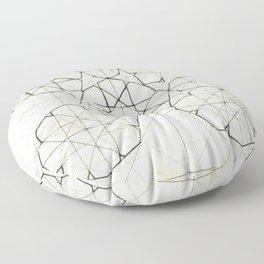 Geometry Sketch Nine Floor Pillow