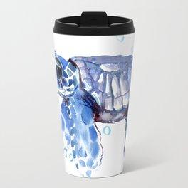 Baby Blue Turtle Travel Mug