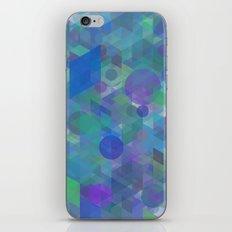 Panelscape + circles  - #1 society6 custom generation iPhone & iPod Skin