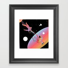 Coexistentiality 3 (An Anomaly to Another Reality) Framed Art Print