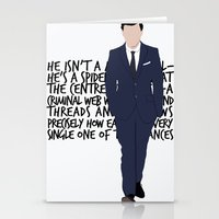 moriarty Stationery Cards featuring James Moriarty by tookthat