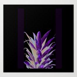 Modern Pineapple Top Art Print