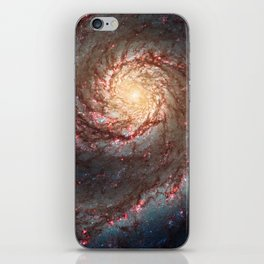 Whirlpool Galaxy iPhone Skin