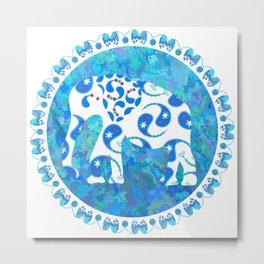 Elephant № 2 Metal Print
