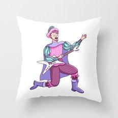 Electric Bard Throw Pillow