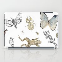 insects iPad Cases featuring Insects by Claire Bond