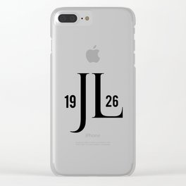 Jerry Lewis Clear iPhone Case