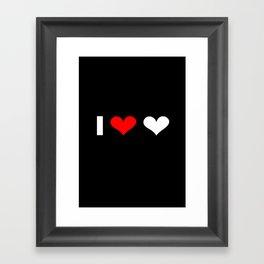I love love Framed Art Print
