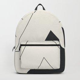 Minimal Geometric Art 02 Backpack