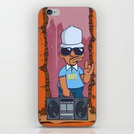 Bboy Bart iPhone Skin
