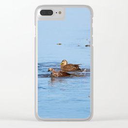 Fishin' in the Kitchen Clear iPhone Case