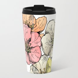 Colorful Poppies Travel Mug