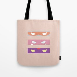 Teenage Minimal Ninja Baddies Tote Bag