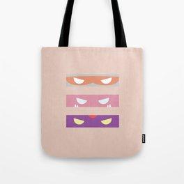 Teenage Minimal Ninja Baddies Tote Bag