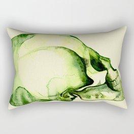 Painted Skull #2 Rectangular Pillow