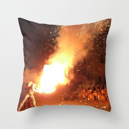 Furgari Throw Pillow