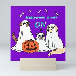 Halloween  mode ON Mini Art Print