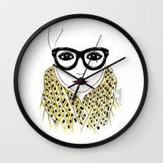 Alicia Frank Custom Wall Clock