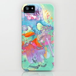 Pretty when you cry iPhone Case