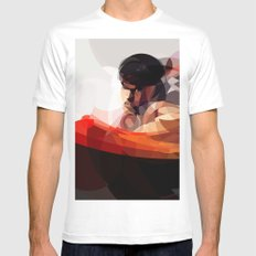 The chosen one White Mens Fitted Tee SMALL