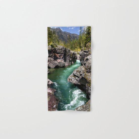 A River Runs Through It Hand & Bath Towel